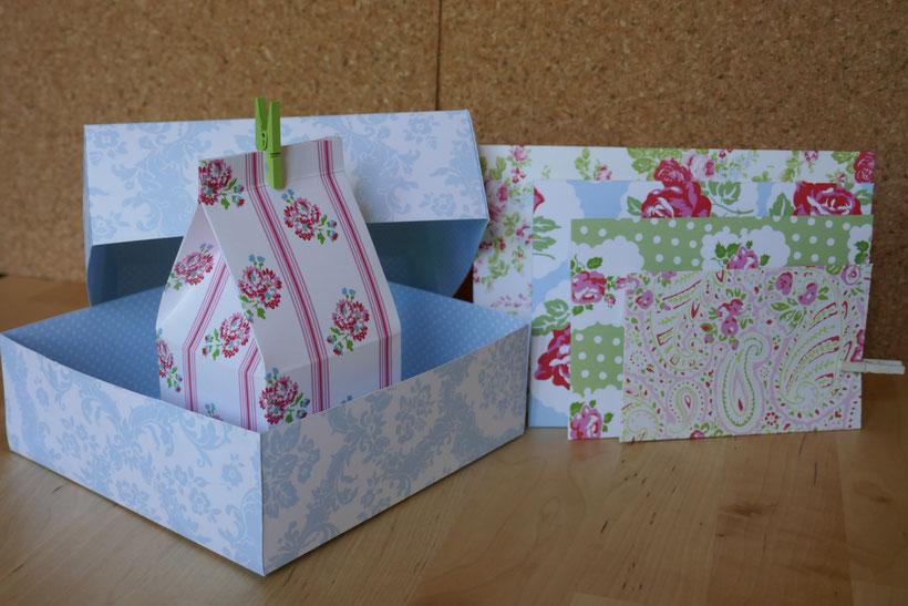 Boîtes et enveloppes faites avec une planche à rainurer ek tools