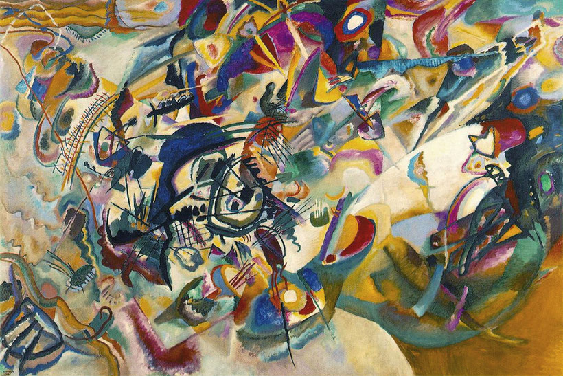"Vasilij Vasil'evič Kandinskij, ""Composizione VII"" (1913)"