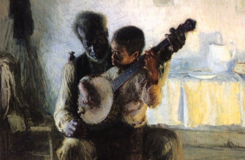 "H.O. Tanner, ""The Banjo Lesson"" (1893)"