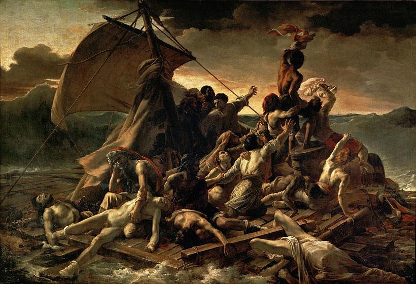 """Théodore Géricault, """"La zattera della Medusa"""" (1819)"""