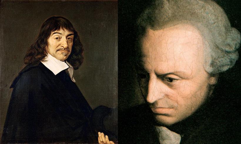 René Descartes (1596-1650) e Immanuel Kant (1724-1804)