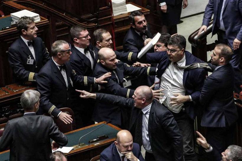 """""""Discussione"""" in parlamento, 27 novembre 2019"""