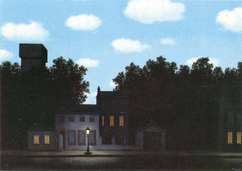 "Rene Magritte, ""L'impero delle luci"" (1950)"