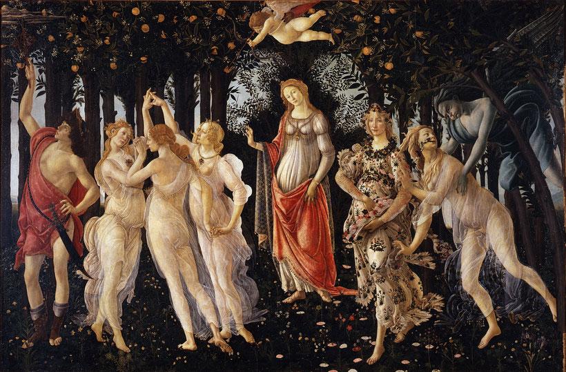 """Sandro Botticelli, """"Primavera"""", 1478-1482"""