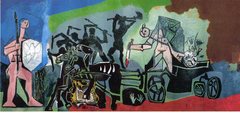 """Pablo Picasso, """"La guerra"""" (1952)"""