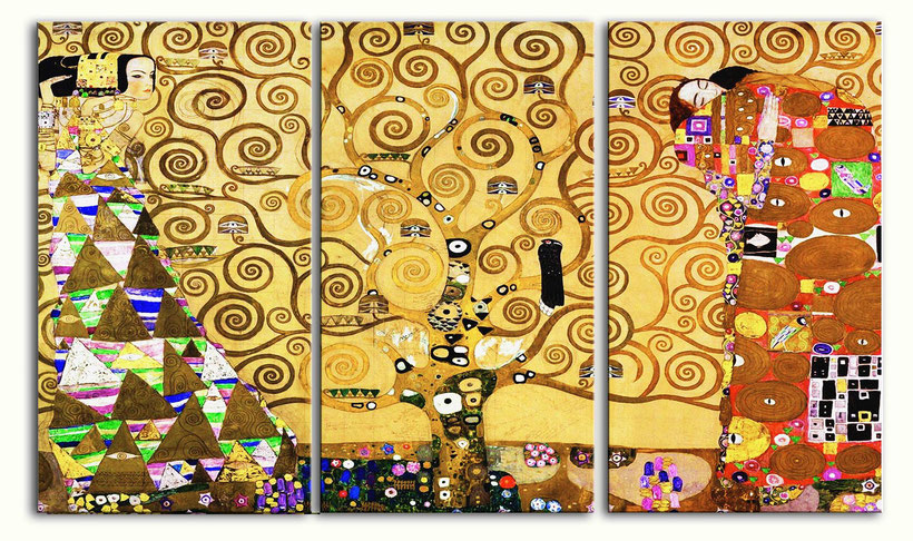 "Gustav Klimt, ""L'albero della vita"" (1909)"