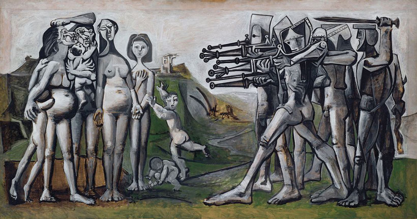 "P. Picasso, ""Massacro in Corea"" (1951)"