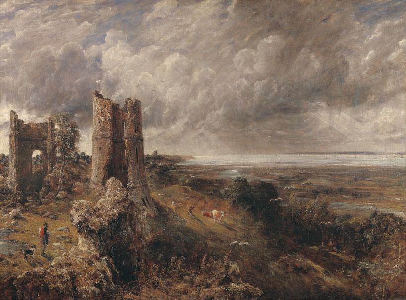 """John Constable, """"Il castello di Hadleigh"""" (1829)"""