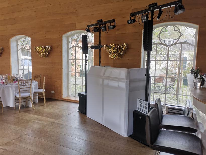 Hochzeitsfeier Hotel Dresel / Hochzeitsdeko