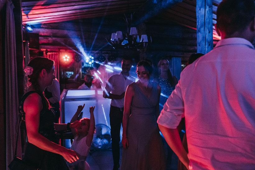 Hochzeit in Schermbeck / Partynacht / Lichtshow