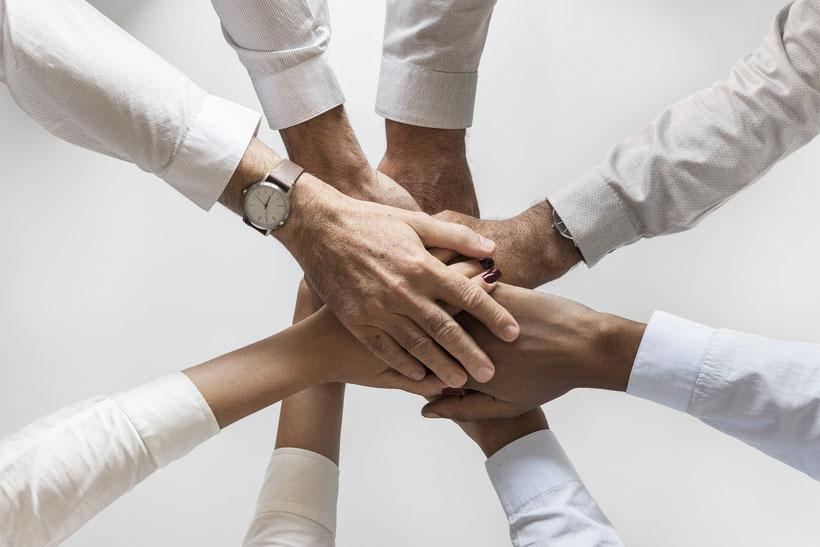 Hände ; Team ; Firma ; Business ; gemeinsam