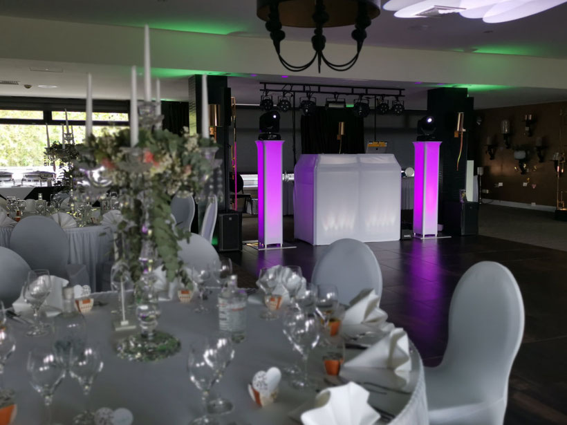 Hochzeit in Moers / DJ Technik / Sound & Light / Ton & Lichttechnik / Hotel van der Valk