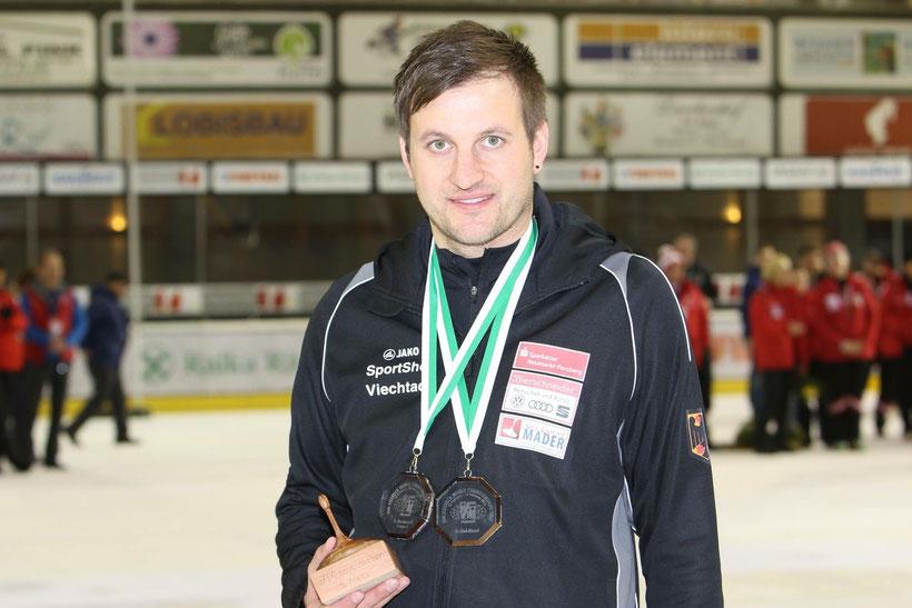 Christoph Öttl holt dreimal Bronze bei der WM in Italien