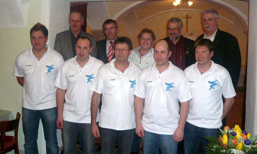 Aufteiger: Christoph Öttl, Manuel Paulus, Konrad Heinze, Alexander Paulus, Johannes Heinze