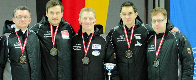 Reinhold Stadler, Christoph Öttl, Andreas Greil, Florian Brundobler u. Andreas Neumeier (Foto: DESV)