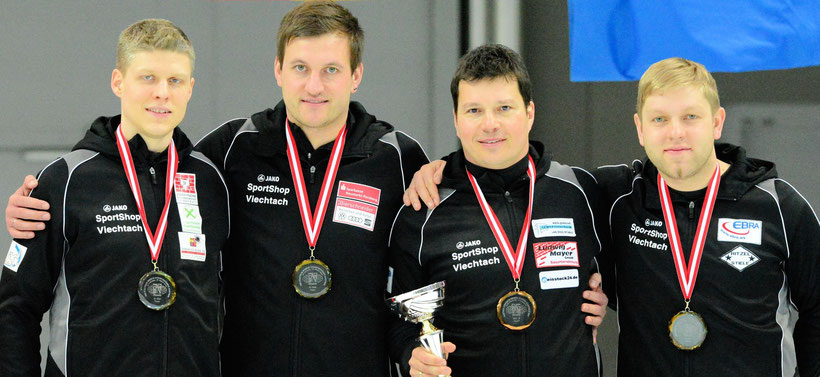 Christian Mader, Christoph Öttl, Thomas Elsenberger u. Manuel Schmid (Foto: DESV)