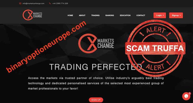 marketsxexchange truffa recensioni opinioni