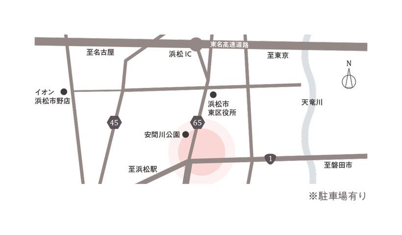 ピエニメリまでの地図画像