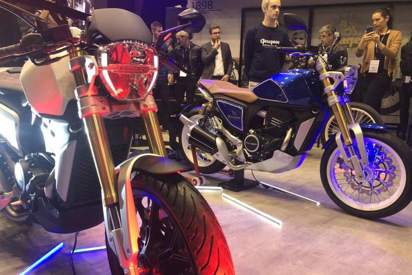 Peugeot P2X présenté au Paris Motor Show 2018