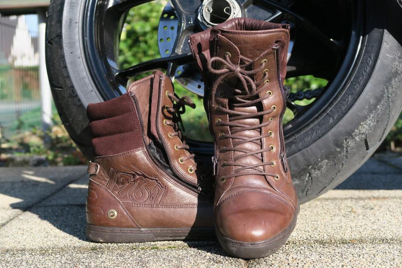 1964 Shoes, Cafe Racer Brown