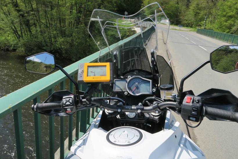 KTM 1290 Super Adventure équipée d'un Tripy