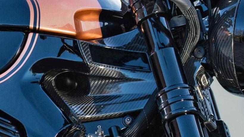 L'apport de 3C-Carbon dans la technique des motos Horex est indéniable