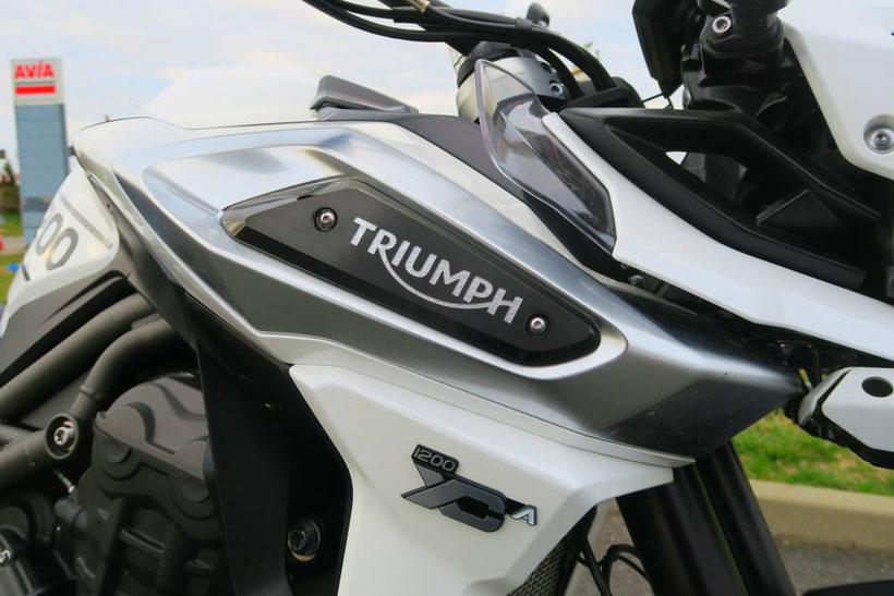 Un travail a&érodynamique payant sur la Triumph Tiger 1200 XCa