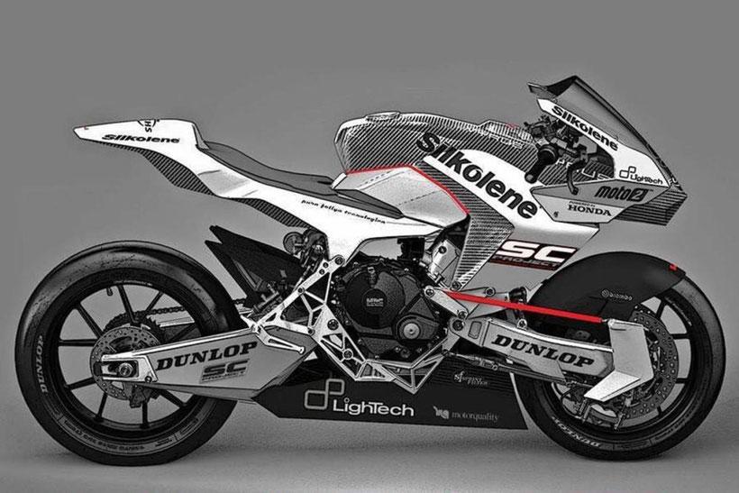 La Vyrus 986 M2 engagée en Moto2 européen acec Bradley Ray au guidon