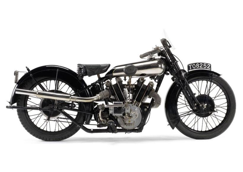 Brough Superior SS100 du 20ième siècle