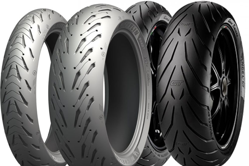Michelin Road 5 VS Pirelli Angel GT