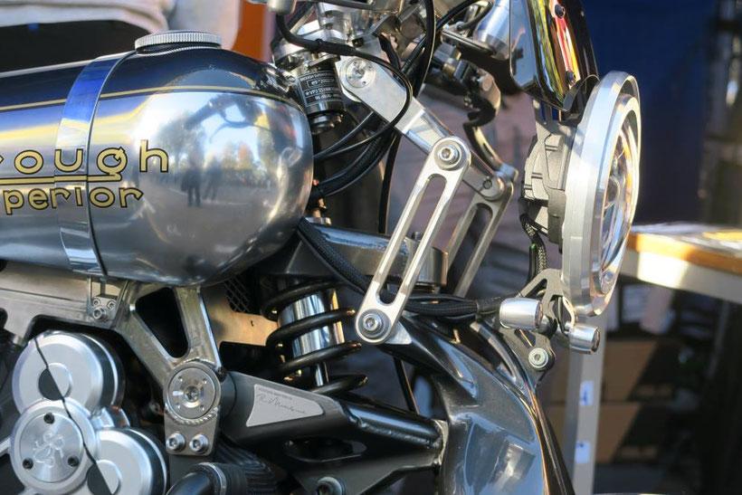 Brough Superior, une finition haut de gamme