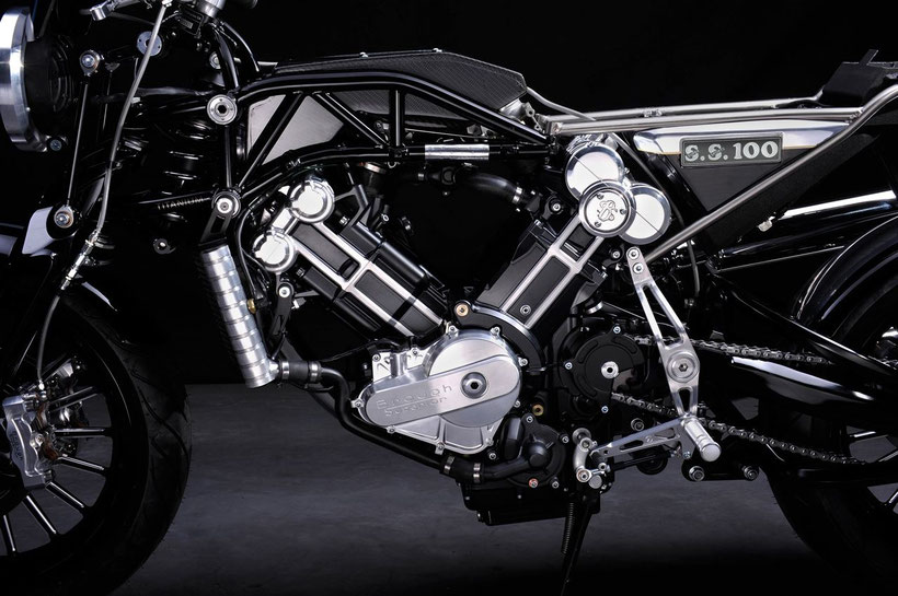 Brough Superior, une conception Boxer Design