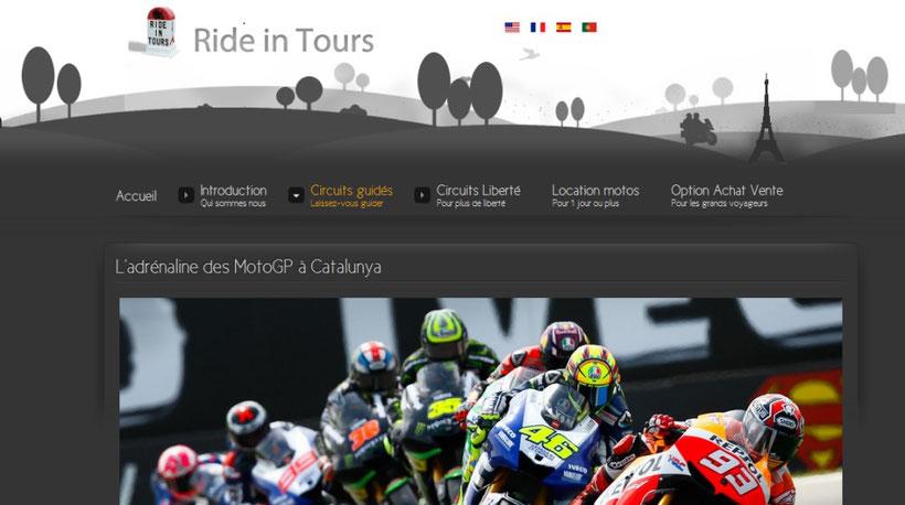 L'Agence de voyage Ride in Tours vous emmène au MotoGP de Barcelonne