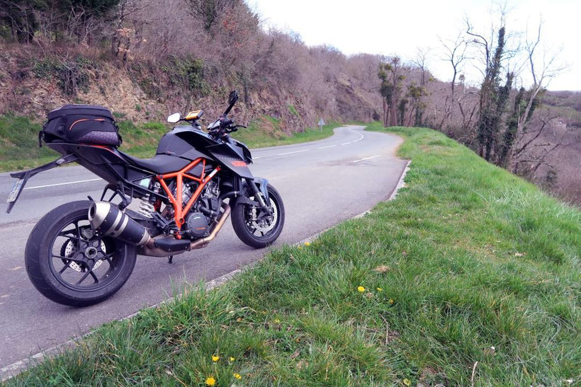 Balade à moto dans la Creuse