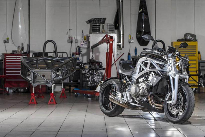 Ariel, marque anglaise née en 1870, produit de nouveau des motos depuis 2014