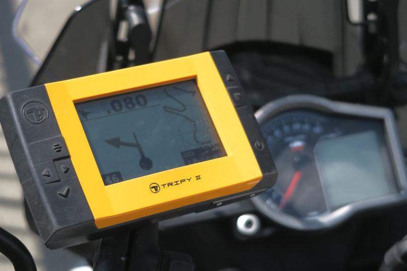 GPS Tripy est l'outil idéal pour tracer vos balades moto