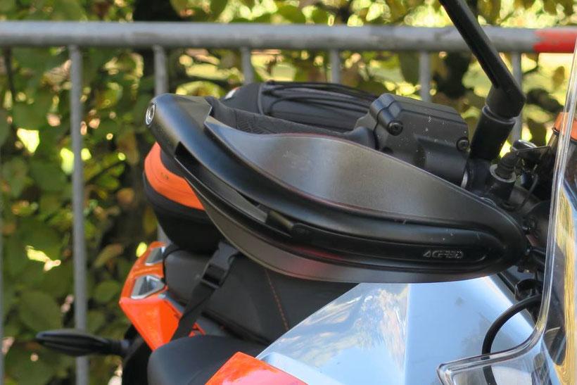 Protège mains Acerbis sur KTM 1290 Super Duke GT
