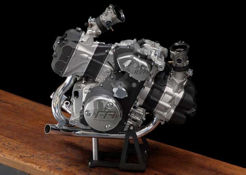 La Midual Type 1 possède un moteur boxer monté longitudinalement dans son chassis