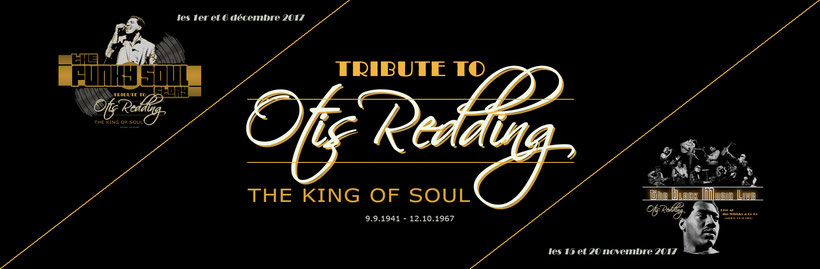 Tribute to OTIS REDDING on december 2017