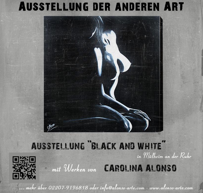 """Ausstellung """"Black &  White"""""""