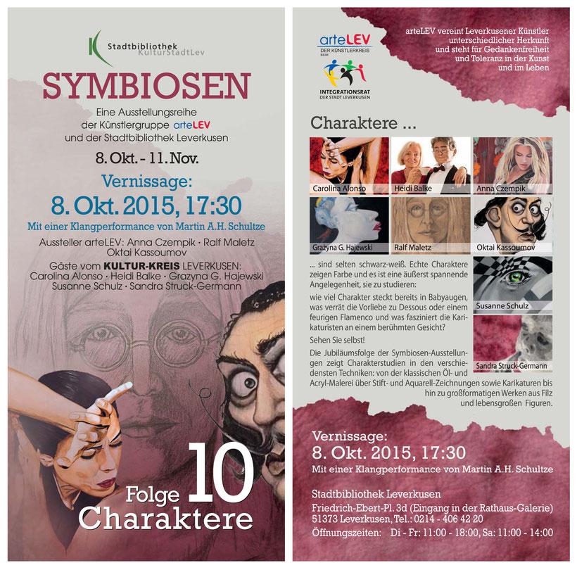 8. Okt. 2015 - Symbiosen 10: Charaktere