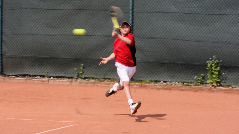 Niklas Guttau im Alter von 9 Jahren