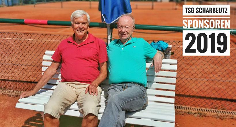 1. Vorsitzender Gerardo Baumbach und Jürgen Boller