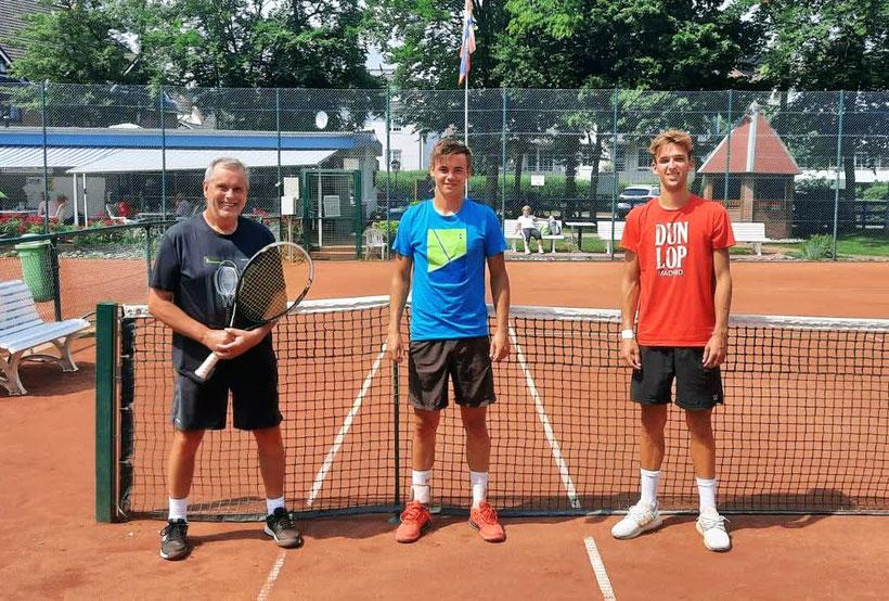 Fotograf: Markus Nagel - Sportwart H. Wildfang - Niklas Guttau(DTB 52) - Noel Larwig(DTB 132)