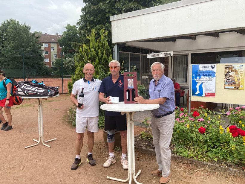 v. links Werner Rohrbach und Horst Kelling