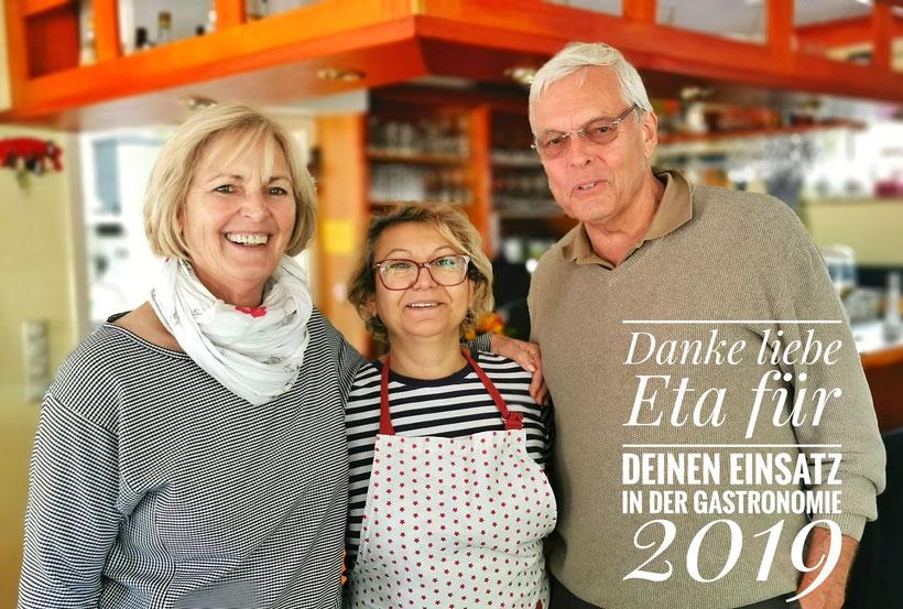 2. Vorsitzende Sigrid Westphal + Eta + 1. Vorsitzender Gerardo Baumbach