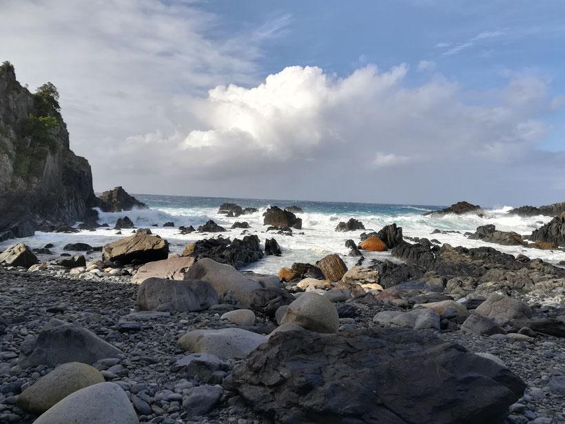 屋久島秘密の海岸