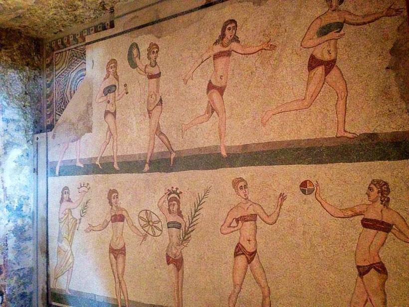 Bikini Villa Romana del Casale