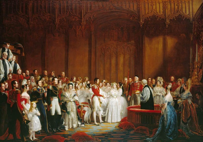 Queen Victoria wedding