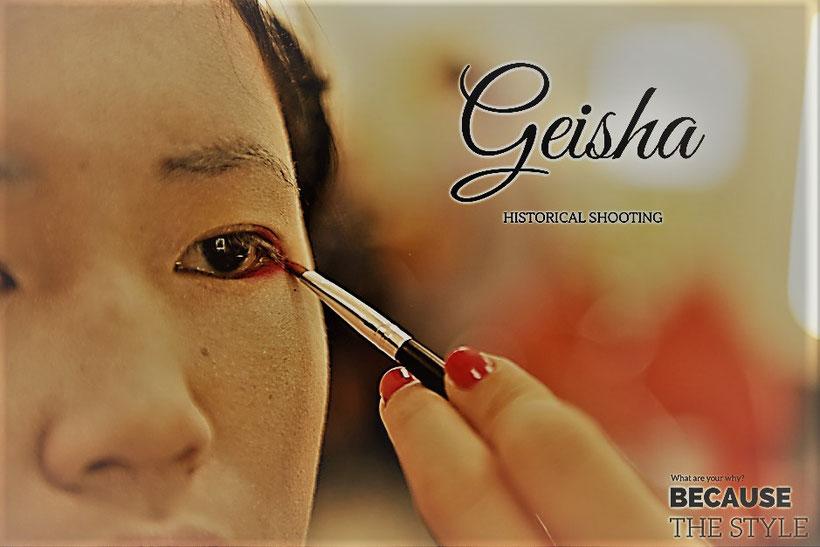 geisha historical shooting